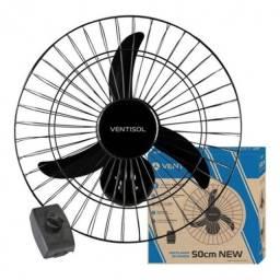 Ventilador de Parede 50cm - 127V Ventisol