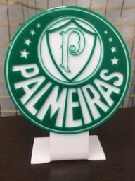 Emblema Palmeiras em acrílico