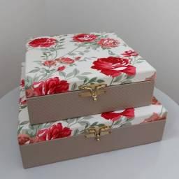 Conjunto de caixas personalizadas