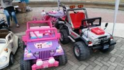 Título do anúncio: Lote de carrinhos elétricos