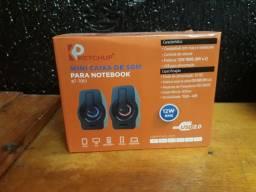 Caixa de Som para Notebook e PC