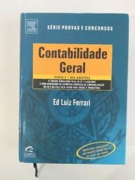Contabilidade Geral - Ed Luiz Ferrari -livro em ótimo estado