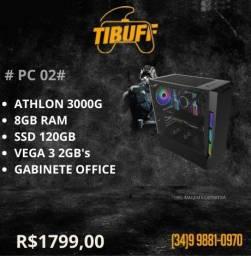 PC Gamer Athlon 3000g 8gb - SSD