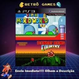 Coleção Super Mario + Donkey Kong Para Ps3 Bloqueado