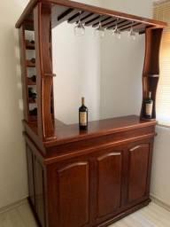 Bar Adega Madeira Maciça - Usado
