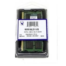 Memória Notebook 8GB Kingston DDR3 - NOVO - Loja Física