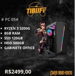 PC Gamer - Ryzen 3 3200g - 8gb - SSD