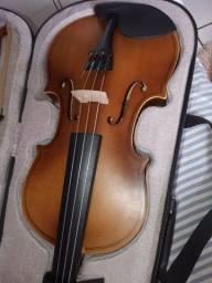 Violino 4/4 VOGGA com arco, breu e case