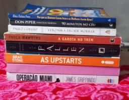 Vendo 8 livros diversos.