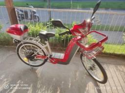 Bicicleta elétrica *Nunca usada*