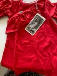 Vestido vermelho lilica repilica