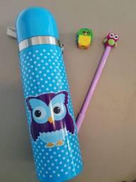 Kit squezze + canetinha Fofa