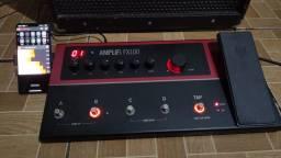 Pedaleira de guitarra Amplifi fx100 Line6