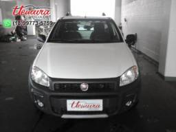 Fiat/ Strada Working 1.4 - 2014/2014- Branca - Flex - 2014