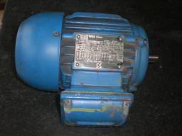 Motor elétrico Weg 0.5 CV 220/380/440v IV polos