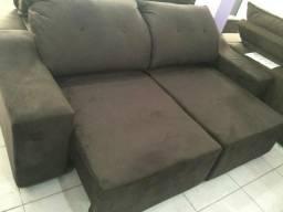 Estofado palio 2m largura retrátil e reclinável