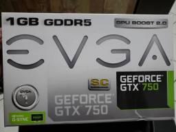 GeForce GTX 750 1GB comprar usado  São Paulo