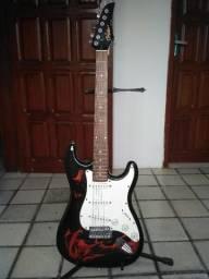 Guitarra Condor Stratocaster Flame (usada)
