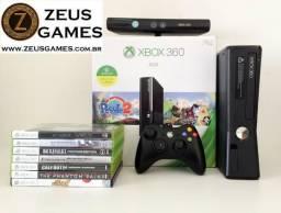 Xbox 360 com 1 Controle - 12x no cartão - Loja Física