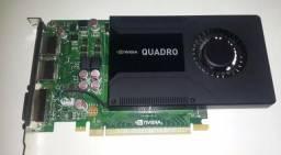 Placa de Video Nvidia Quadro K2000 2GB comprar usado  Contagem