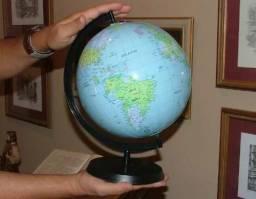 Globo Terrestre Inflável Planisfério Escolar Geografia