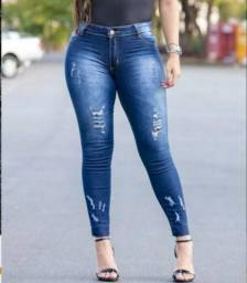Kit 3 Calças jeans femininas