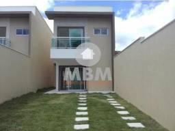 VENDO Casa no Eusébio com 124 m² de área construída, 3 suítes e 6 vagas de garagem