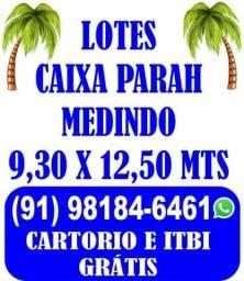 CAIXA PARA LOTES 9x12.50 rua antes shopping metropole