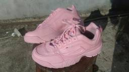 Tênis fila rosa n°38