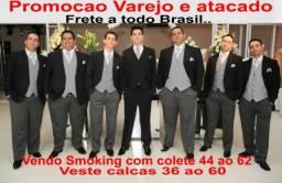 Smoking 1 botao 46 ao 62- Com colete - Semi novo