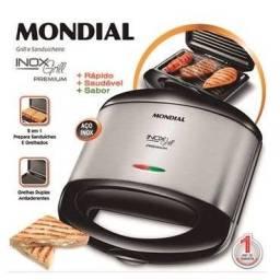 Sanduicheira e Grill Mondial Premium 220V - Por 65,00 R$ - Valor Negociáve