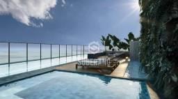 Apartamento com 2 dormitório à venda, 62 m² por R$ 373.779 - Cabo Branco - João Pessoa/PB