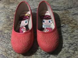 Sapato Molekinha com strass