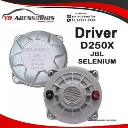 Driver JBL Selenium D250X 100W RMS 8 Ohms Diafragma Fenólico comprar usado  Belem