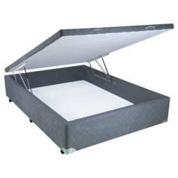 Cama box bau padrão ou bipartido varios tamanhos direto de fábrica
