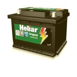 Bateria nova 60Ah amperes Heliar original 18 meses garantia Promoçao