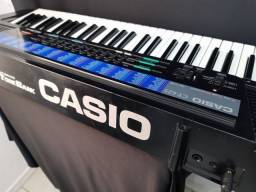 Teclado Casio Ct- 625 210 Sound Tone Bank Com Pedestal ( POUCO USO )