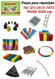 peças para pula pula, piscina de bolas, basquete eletrônico