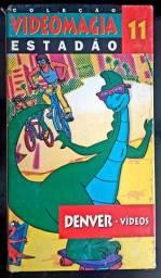 Nostálgico Vhs: Denver, o Dinossauro.Reviva os melhores desenhos dos anos 80