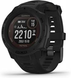 Relógio Garmin Instinct Tactical Black Solar Edition Novo Pronta Entrega