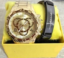 Relógio kit masculino