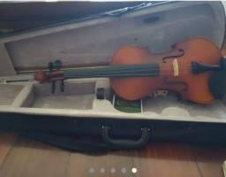 Título do anúncio: Vendo violino da marca mendini importado dos Estados Unidos 4x4