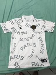 Camisa do psg tamanho GG qualidade de shopping