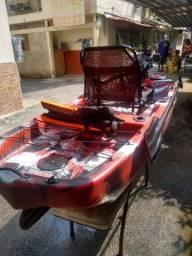 Caiaque Leader milha náutica
