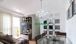 Apartamento com 3 dormitórios à venda, 57 m² por R$ 299.000,00 - Jardim Las Vegas - Guarul