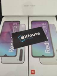 Redmi  Note 8  Xiaomi  +  Fone e película de brinde