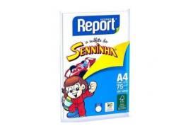 Papel Sulfite Senninha A4 75g 100 folhas