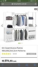 Vendo Closet Branco Leroy Merlin