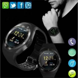 Relogio Inteligente Smartwatch V8 Android Ios Bluetooth Chip (Nova Versao Y1) Top
