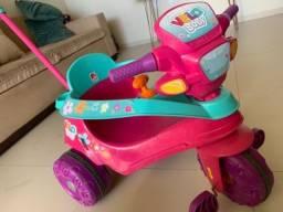 Título do anúncio: Triciclo Infantil Velo Baby com Empurrador